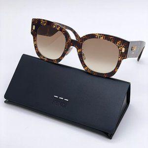 💯 NEW Fendi FF 0458/G/S 2VMHVNA Women Sunglasses